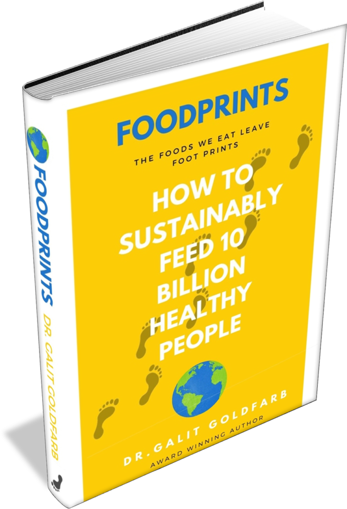 foodprints 3D book